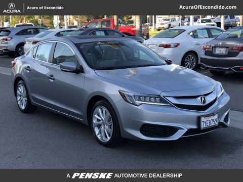 Pre-Owned 2017 Acura ILX Active Service Loaner