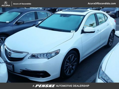 Used Acura TLX Active Service Loaner
