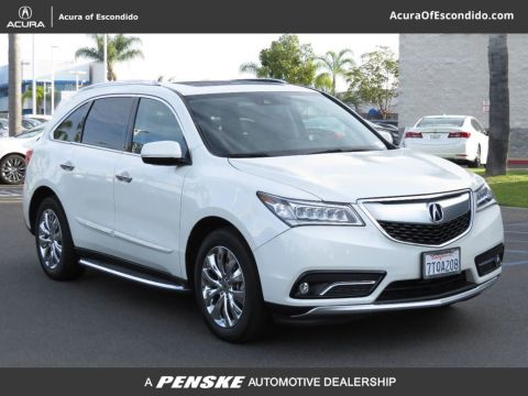 Used Acura MDX Active Service Loaner