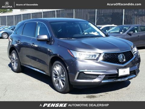 New 2017 Acura MDX SH-AWD w/Technology Pkg With Navigation