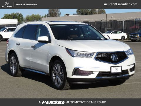 New Acura MDX with Technology Package