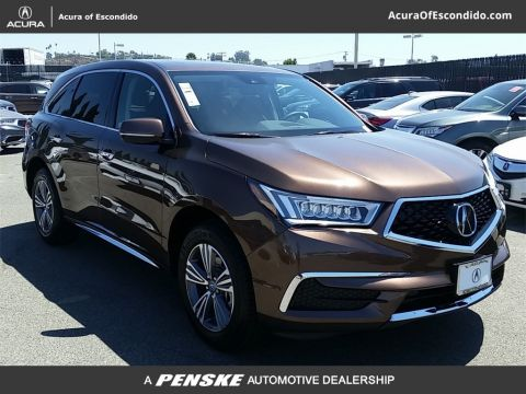 New 2019 Acura MDX AWD