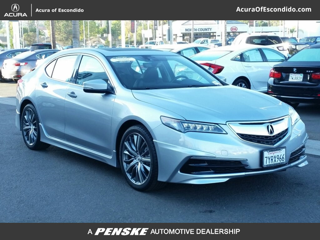 Acura Sedan 2017 >> Pre Owned 2017 Acura Tlx Active Service Loaner Sedan