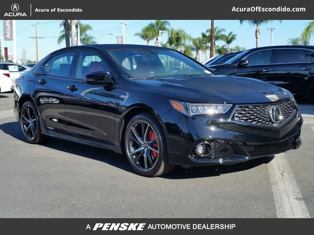 new 2018 acura tlx 3 5 v 6 9 at p aws with a spec red sedan in escondido 53278 acura of escondido. Black Bedroom Furniture Sets. Home Design Ideas