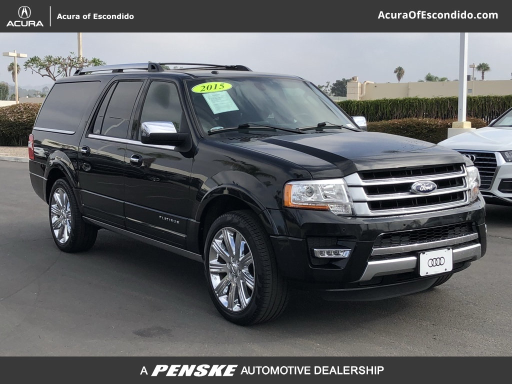 Pre owned 2015 ford expedition el platinum
