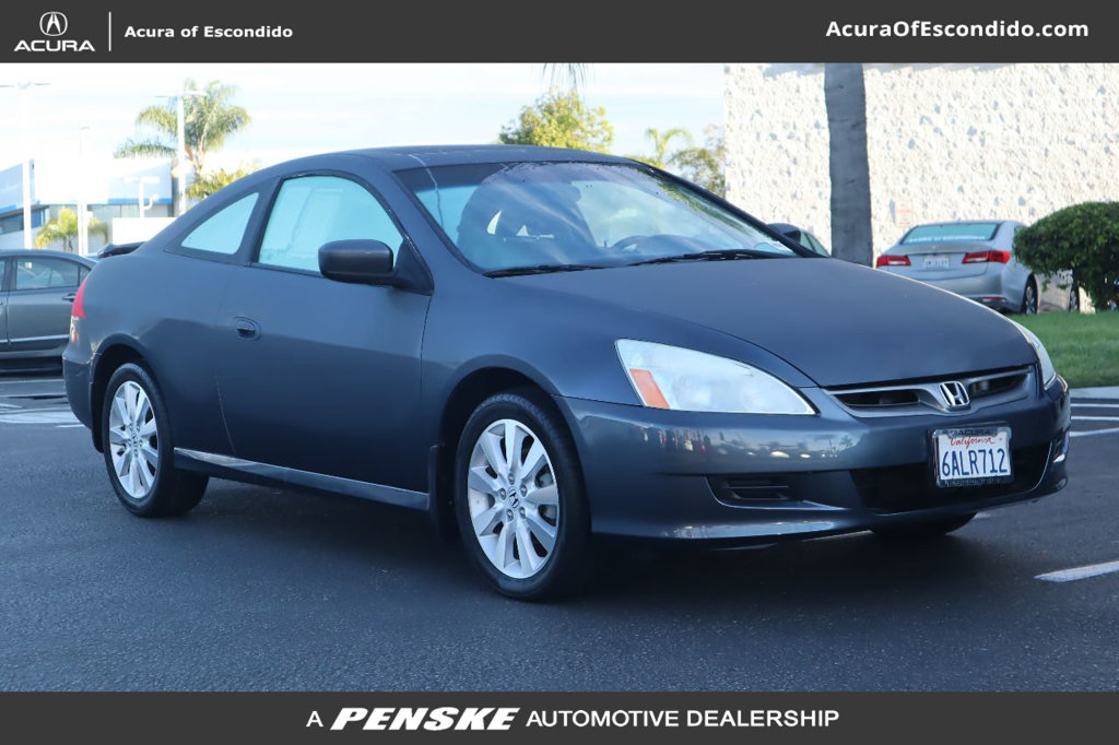 Pre-Owned 2007 Honda Accord Coupe 2dr V6 Automatic EX-L