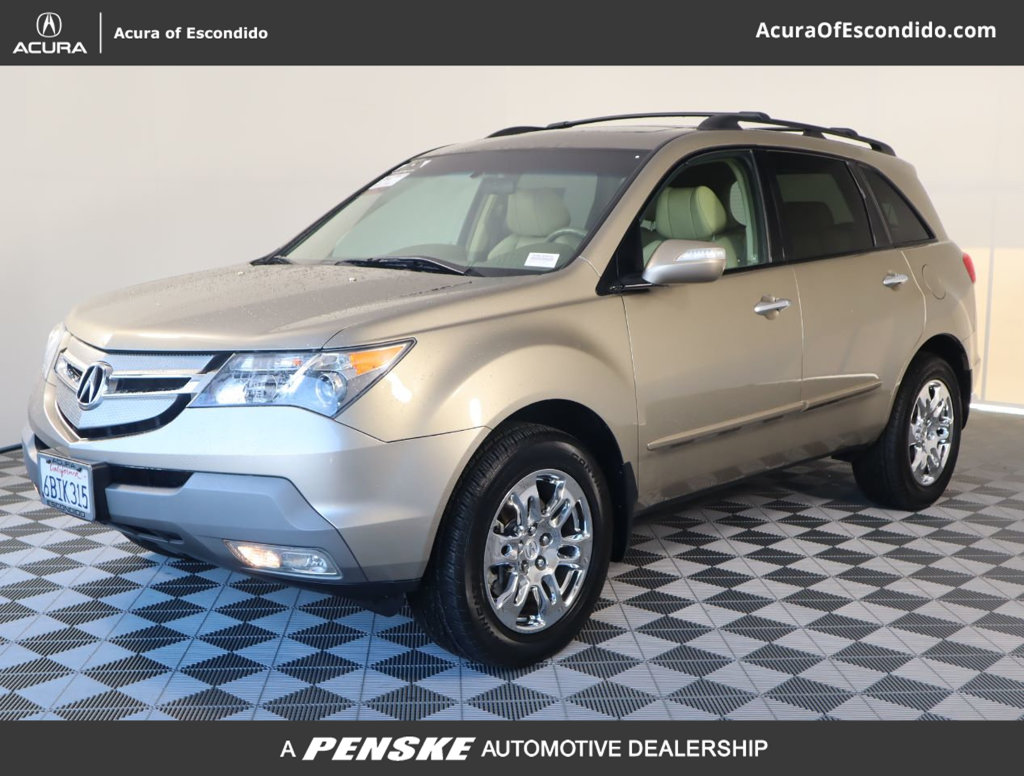 Pre-Owned 2007 Acura MDX 4WD 4dr Tech/Entertainment Pkg