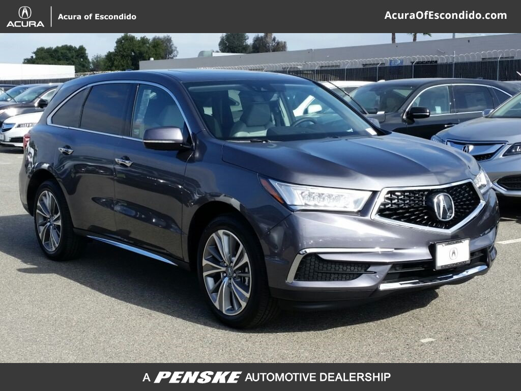 new 2017 acura mdx sh awd with technology package suv in escondido 52977 acura of escondido. Black Bedroom Furniture Sets. Home Design Ideas