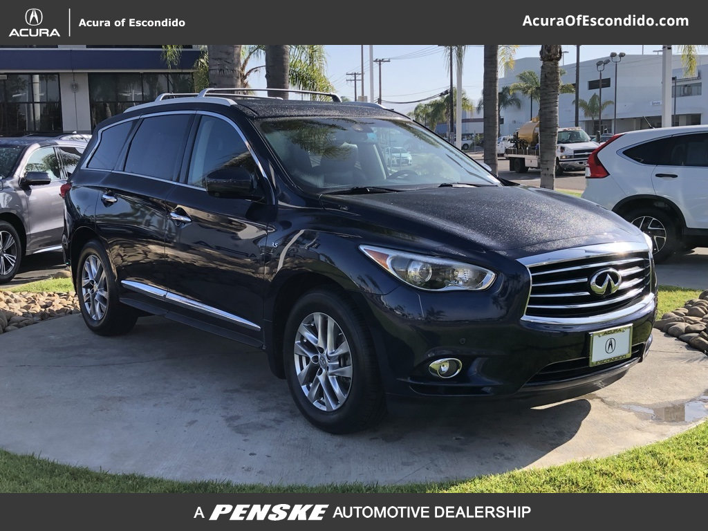 Pre-Owned 2015 INFINITI QX60 w/Premium Plus Pkg