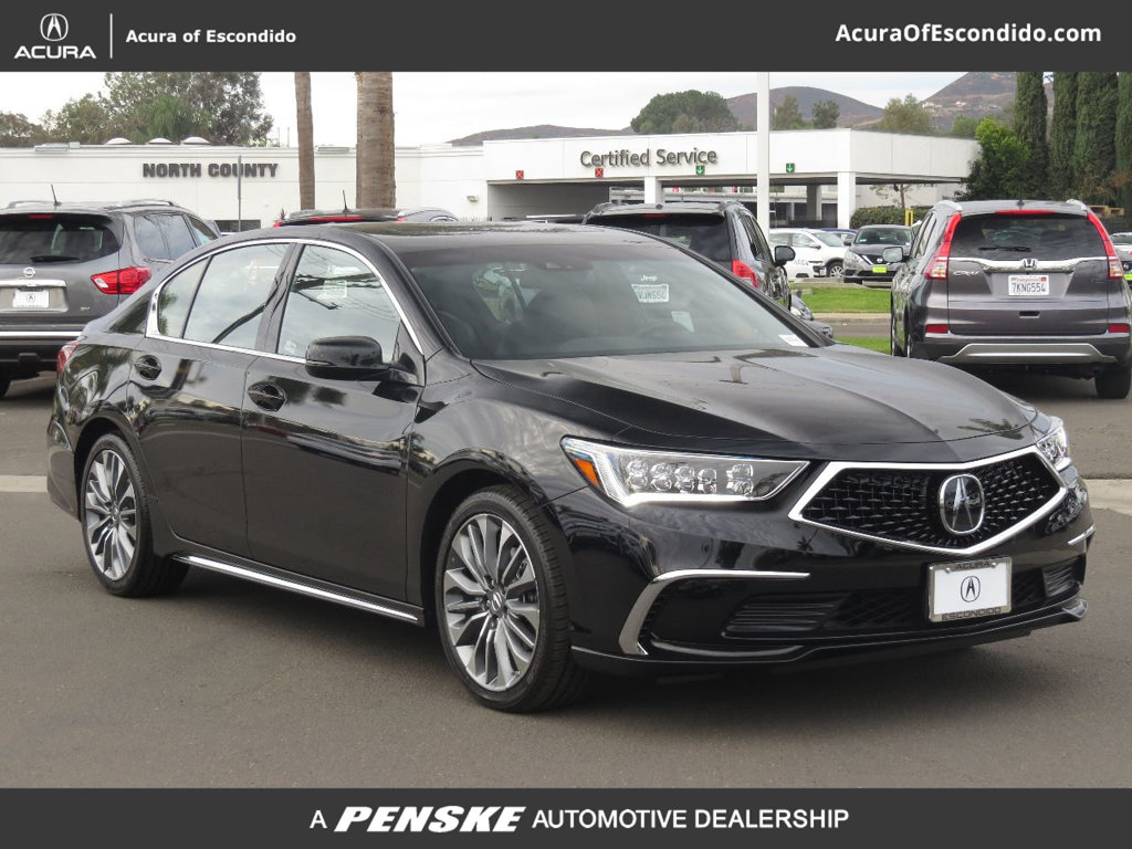 new 2018 acura rlx with technology package sedan in escondido 53486
