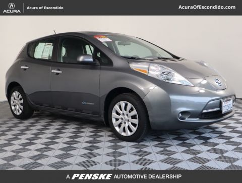 Pre-Owned 2017 Nissan Leaf S Hatchback