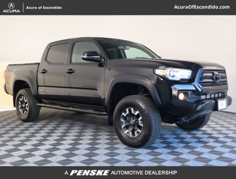 Pre-Owned 2017 Toyota Tacoma TRD Off Road Double Cab 5' Bed V6 4x2 Automatic