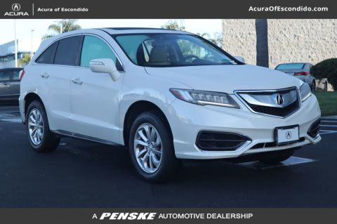 Certified Pre-Owned 2017 Acura RDX with AcuraWatch Plus