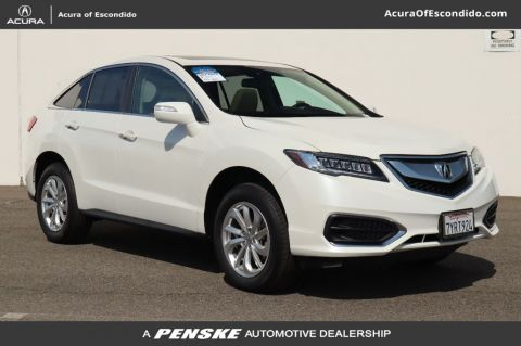 Certified Pre-Owned 2017 Acura RDX with Technology and AcuraWatch Plus Packages